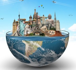 Travel the world monuments